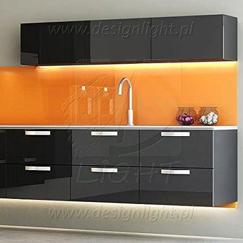 Kora Éclairage LED pour montage sous un meuble de cuisine Set complet avec 1 à 6 lampes au choix Blanc neutre 5er Set