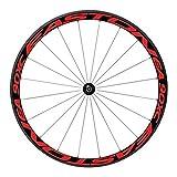 FOKOM Adesivo per Bicicletta Cerchioni delle ruote Satarifrangenti Adesivi