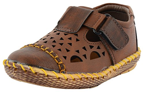 ESSENCE Baby Boys' Brown Casual Shoes - 11.5 UK