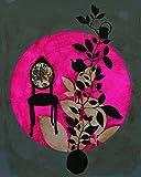 Affiche 40x50 cm Fauteuil baroque / Baroque chair / Barocksessel Anna BUSCHULTE