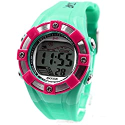 ukdw442d Chronograph PNP matt silber Lünette Wasser widerstehen Damen Frauen Digitale Armbanduhr