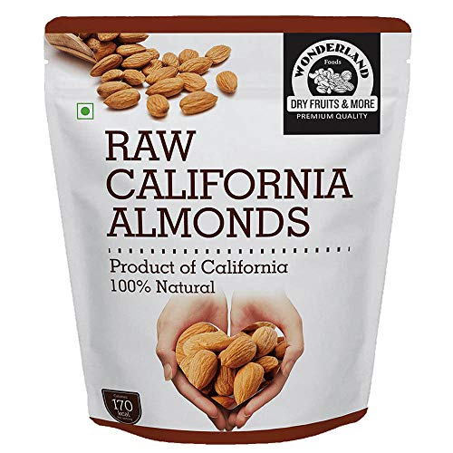 Wonderland California Almonds 1kg
