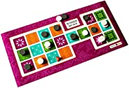 Spieltz 50937: Das königliche Spiel von Ur (pink/grün) / Royal Game of UR
