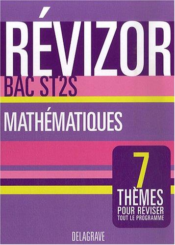 Mathématiques Bac ST2S