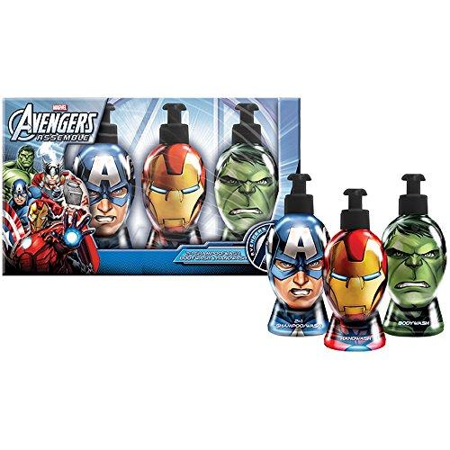 Avengers - Marvel Geschenk-Bad - Duschgel Shampoo und Seife, 1er Pack (1 x 1 ()