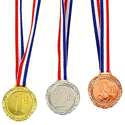 er Set Medaillen ┃1 Platz -┃ 2 Platz -┃ 3 Platz - ┃ Sieger Medaillen ┃ Super Medaillen ┃ Podium ┃ Preis für Fußball turniere Wettbewerbe Oder Kinder veranstaltungen ()