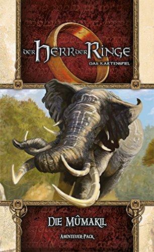 Herr der Ringe: Kartenspiel LCG - Die Mumakil - Abenteuer-Pack (Haradrim-1) | Deutsch