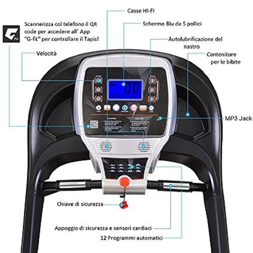 Zoom IMG-2 koolook tapis roulant pieghevole elettrico