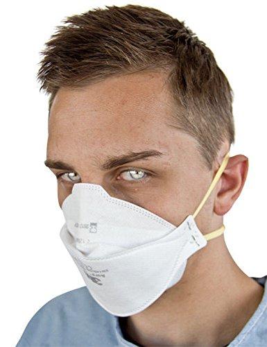 Atemschutzmaske OP-Maske Mundschutz AURA weiß Einheitsgröße
