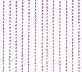 Wanted Perlen Türvorhang Pink Drops