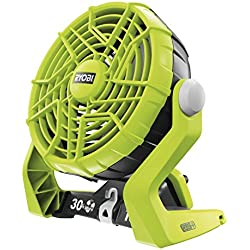 Ryobi r18F Ventilateur sans fil One Plus-Hyper Vert