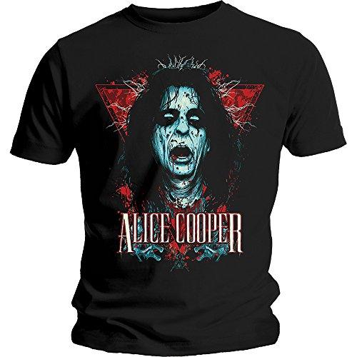 Alice Cooper Decapitated Rock ufficiale Uomo maglietta unisex (Large)