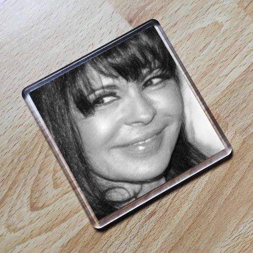 Seasons MARIA CONCHITA ALONSO - Original Art Coaster #js004