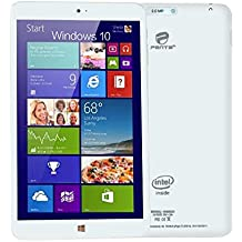 "ECVILLA Penta 8"" Windows 10 Tablet with keyboard, mouse,office 365, Intel Baytrail-T (Quad-core) 3735G 1.33GHz Full HD1280×800 IPS Screen 1G RAM/16G ROM Bluetooth 4.0, Dual Camera ,WiFi"