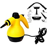 Super Buy Handheld Multi-purpose Pressurized Household Steam Cleaner 1050W W/Attachments By Super Buy
