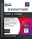 EXAMTIME Laws & Ethics for CMA INTER By CMA Anupama shukla