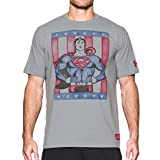 Retro Superman S/S T-Shirt - Steel - size L