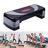 Paneltech 80cm 3 in 1 Aerobic Stepper Trittbrett Einstellbar Aerobic Step, Steppbrett, Aerobic Fitness Stepper (80cm)