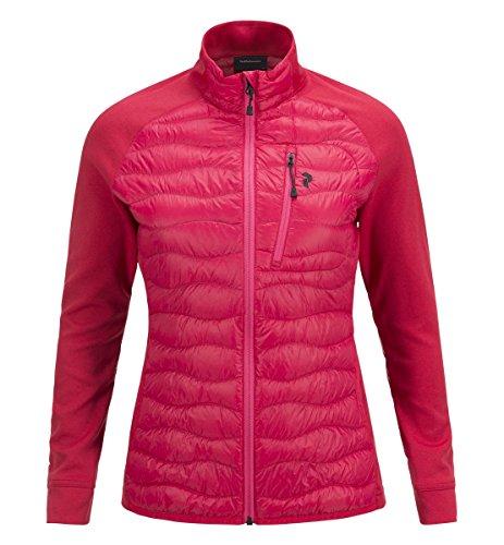 Peak Performance W Helium Hybrid Jacket Pink Planet - XL