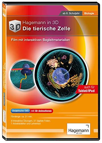 tierische Zelle - Film mit interaktiven Begleitmaterialien auf DVD für DVD-Player, PC, Tablet, Beamer und Whiteboard - Hagemann 18624 - Einzel- und Schullizenz ()