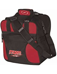 Storm Solo Single Tote Black/Red by Storm