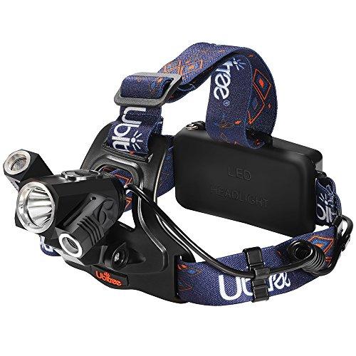 Preisvergleich Produktbild Superhelle Stirnlampe Kopflampe LED Headlights 4 Lichtmodi, perfekt für Outdoor Akktivitäten wie Camping, Wandern, Angeln, Bergsteigen usw.( inclusive 2 wiederaufladbare Akku )(3900)