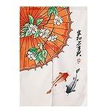 Hornet Park Traditioneller Chinesisch-Stil Tür Vorhang Schlafzimmer Küche Dekorative Türschild, 33.4 x 47.2 Zoll [M]