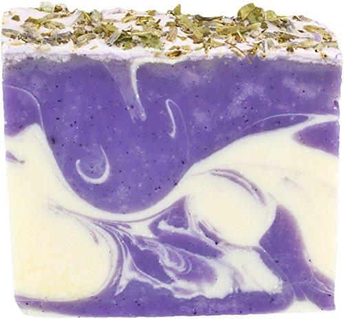 Greendoor handgesiedete Naturseife Eisenkraut-Lavendel, Seife vegan 100g aus der Naturkosmetik Manufaktur