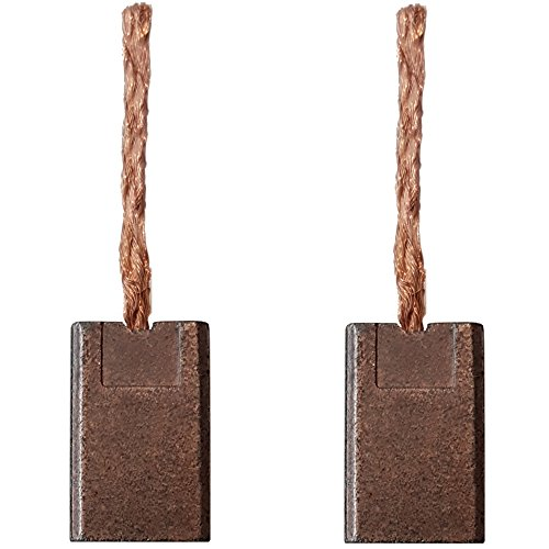 Preisvergleich Produktbild 2 Stück Kohlebürsten Kohlen Motorbürsten für Akku Schrauber Milwaukee 3x8,3x13mm