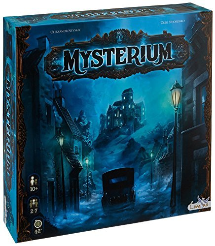 Libellud LIBMYST01US Mysterium Board Game