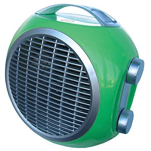 ARGO POP GREEN Termoventilatore Potenza Termica 2000 Watt 60 m3 Riscaldabili Colore Verde