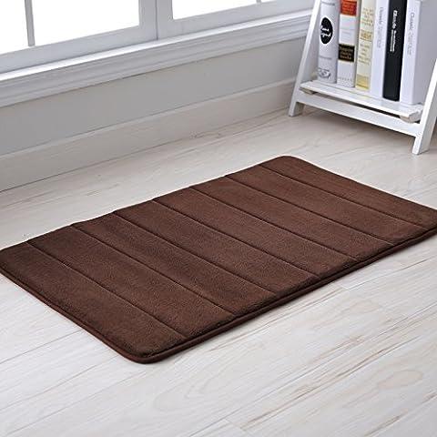 YangR*lenta ripresa Badematten porta mat-porta Bad Rutschfeste mate salute camera da letto, sala di essere di piedi pad , dimensioni , Square Bar / caffè.