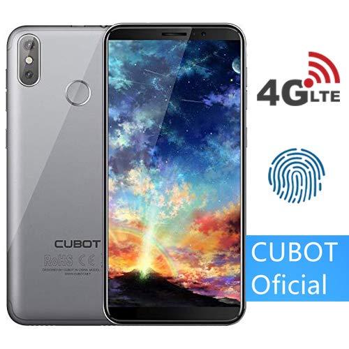 CUBOT J3 Pro (2018) Pantalla 18:9/5.5' 4G Android GO Reconocimiento Facial Dual Sim 1GB + 16GB, Dual Cámara Trasera...