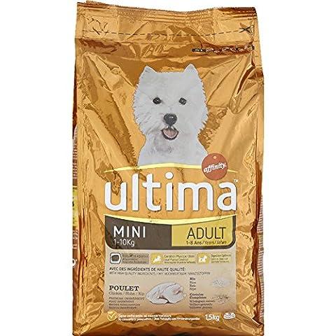 Ultima - Affinity Croquettes pour chats stérilisés d'intérieurs à la dinde et à l'orge Le sac de 1,5Kg Prix Unitaire - Envoi Rapide Et Soignée