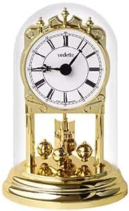 Vedette - VP80005 - Pendule 400 Jours - Globe en Verre