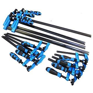 Blue Handled 12pc F Clamp Bar Clamp 4X 6