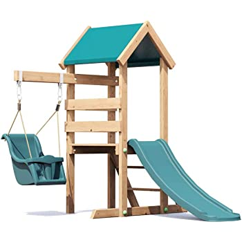 Dunster House Wooden Toddlers Outdoor Climbing Frame Pressure ...