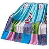 Carton Vessel Baby-Sommer-Klimaanlage Coral Carpet Infant Handtuch Decke
