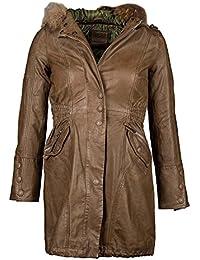 Suchergebnis auf Amazon.de für  Ledermantel Damen - Damen  Bekleidung 91c3dd8a36