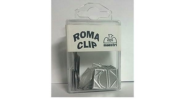 FERMAGLI ANGOLARO PANCOAS ROMA CLIP CONF 100PZ