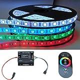 5-30m Komplettset RGB LED Stripe mit RF 64 Funk Controller (20m (4x 5m))