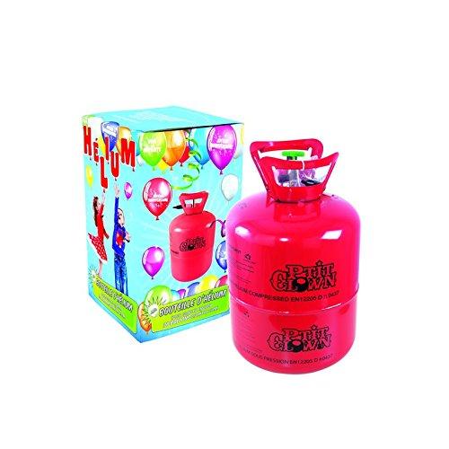 P'TIT Clown re25830, Bouteille d'hélium jetable 0.25 m3 (pour 30 ballons)