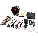 sourcingmap® Alarma de coche botón de reset manual del sistema de seguridad de protección de alarma antirrobos de función