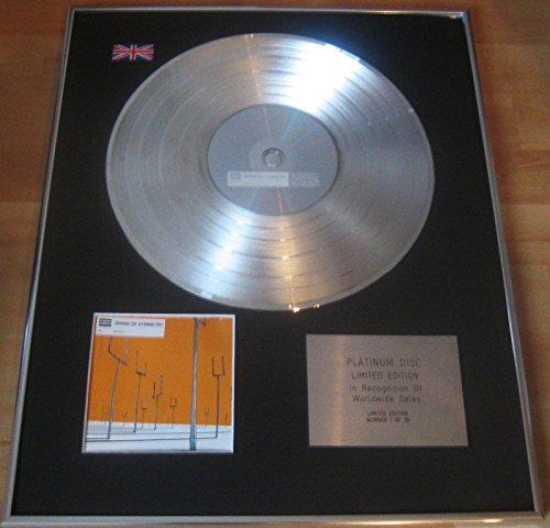 MUSE - CD disco de platino - origen de...