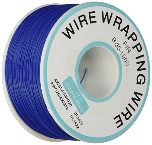 filo-metallico-di-rame-placcato-stagno-per-circuiti-stampati-p-n-b-30-1000-30awg-cavo-blu-da-305m