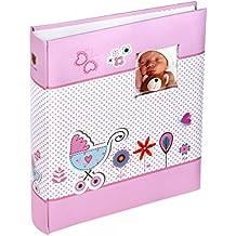 Henzo álbum Moments Color Rosa–33,5x 29,5cm–Álbum de fotos–Álbum de Baby–Álbum de fotos–Álbum–Libro