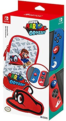 Nintendo Switch Officially Licensed Super Mario Odyssey Accessory Set from HORI