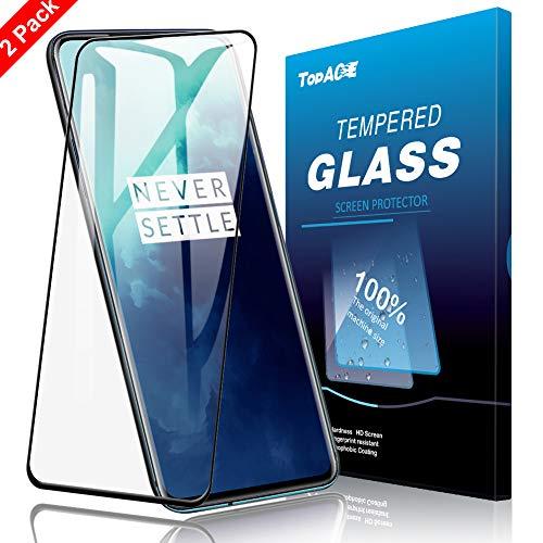 TopACE Protecteur écran pour OnePlus 7T Pro,Anti-Rayures Anti-Huile Protecteur d'écran en Verre trempé HD-Klar 9H Tougheness pour OnePlus 7T Pro