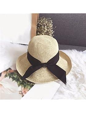 LVLIDAN Sombrero para el sol del verano Dama SolAnti-sunshinestrawhat beige