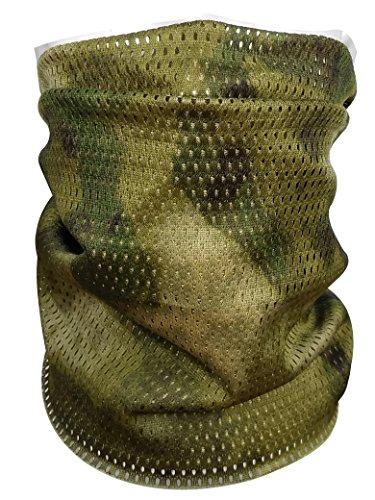d7fe49021ca3f QMFIVE Tactical Camouflage Scarf, Men and Women Multi-purpose Military  Headband Style Head Wrap Face Mesh Neckerchief for ...